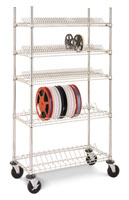 Reel Shelving Carts